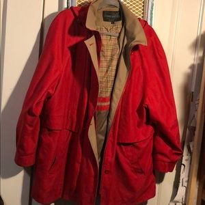Used red coat by forecaster size XL